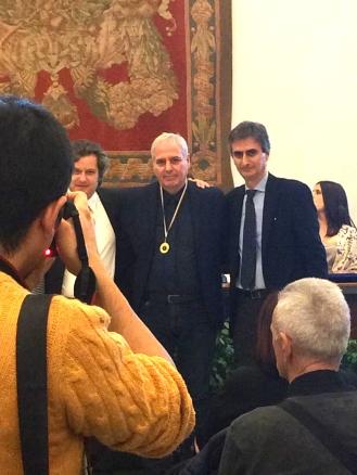 Cerimonia finale del Premio Nazionale AlberoAndronìco 2018 alla Sala Protomoteca del Campidoglio di Roma
